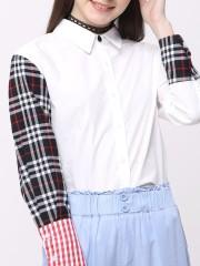 Checkered Patch Shirt