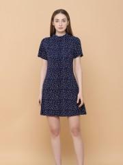 Dispersed Dot Mini Dress