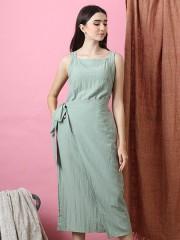 Cottage Core Layer Wrap Dress