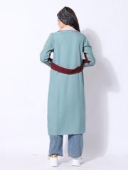Ramadhan Moon Panel Color Long Blazer