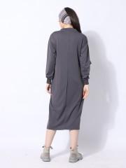 Ramadhan Moon Sides Buttoon Maxi Dress