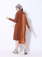 Ramadhan Moon High Neck Side Chiffon Combi