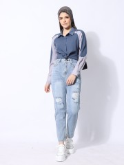 Ramadhan Moon Down Tone Shirt