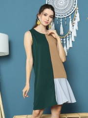 Cottage Core 3 Panel Colors Dress